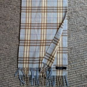 Authentic Burberry 100% cashmere scarf